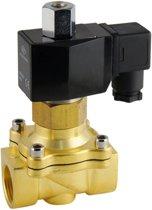 Magneetventiel DF-SB 3/4'' NO messing EPDM 0-5bar 120V AC