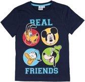 Disney-Mickey-T-shirt-met-korte-mouw-marineblauw-maat-104