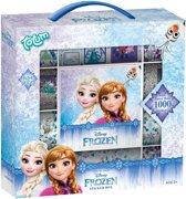 Frozen stickerbox 12rolls + boekje