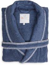 Heckett & Lane - Badjas Bamboo XL Jeans Blue