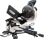 FERM Kantelbare radiaal afkortzaag, 1500W - 210mm, veilig en stabiel - incl. 24T TCT zaagblad