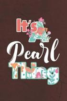 It's Pearl Thing