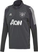 Adidas Adidas Manchester United CL Trainingstop Grijs Heren 19/20