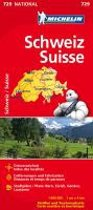 Michelin Nationalkarte Schweiz 1 : 400 000
