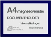 Magneetvensters A4 - Blauw