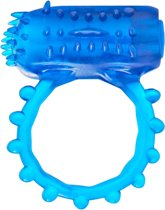 TOYJOY Basics Cockring & Fingervibe Flex - blauw