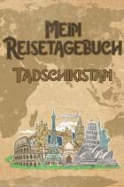 Mein Reisetagebuch Tadschikistan: 6x9 Reise Journal I Notizbuch mit Checklisten zum Ausf�llen I Perfektes Geschenk f�r den Trip nach Tadschikistan f�r