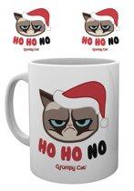 Grumpy Cat Ho Ho Ho Mok - Kerst