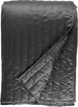 Rivièra Maison Wentworth - Bedsprei - 180x260 cm - Antraciet