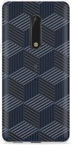 Nokia 5 Hoesje Isometric Pattern