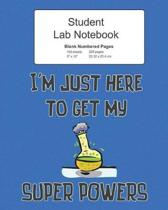 Student Science Lab Notebook
