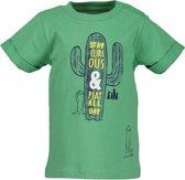 Blue Seven Jongens T-shirt - groen - Maat 62