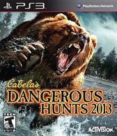 Activision Cabela's Dangerous Hunts 2013, PS3