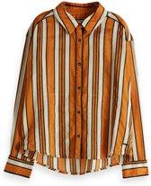 Scotch Rbelle Meisjes t-shirts & polos Scotch Rbelle Allover printed viscose mix shirt dess 116