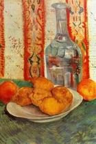 Still Life with Decanter and Lemons on a Plate by Vincent van Gogh Journal
