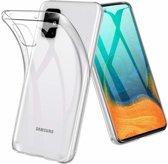 Samsung Galaxy A71 Hoesje TPU Back Cover - Transparant