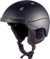 Sinner Titan - Skihelm - Unisex - S / 57-58 cm - Zwart