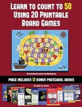 Fun Counting Activities for Kindergarten (Learn to Count to 50 Using 20 Printable Board Games)