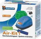 SuperFish Air Kit 1 - Vijver - Beluchting - Met luchtsteen en 7,5 m luchtslang