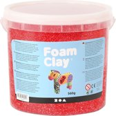 Foam Clay, 560 gr, rood