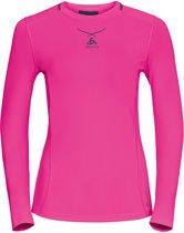 Odlo Shirt l/s crew neck Ceramicool pro - Sportshirt  - Maat XS