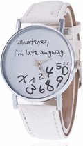 Late anyway wit horloge