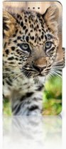Huawei Mate 8 Uniek Boekhoesje Baby Luipaard