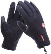 Luxe Waterdichte Touchscreen Handschoenen - Zwart L