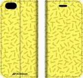 Mobigear 90s Design Wallet Bookcase Hoesje 2 iPhone 6 / 6s