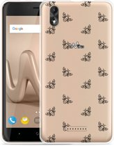 Wiko Lenny 4 Plus Hoesje Bee Good