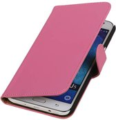 Samsung galaxy j5 2015 Roze | bookstyle / book case/ wallet case Hoes  | WN™