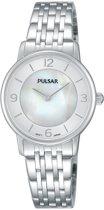 Pulsar PRW025X1 horloge dames - zilver - edelstaal