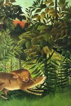 A Lion Devouring Its Prey by Henri Rousseau Journal