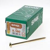 Spax Spaanplaatschroef Tellerkop discuskop gebruineerd T40 8 x 160mm