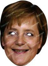 Masker van Angela Merkel - Verkleedmasker