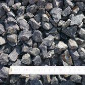 Basalt Split Zwart 16/22mm- Big bag 1500kg 1m³