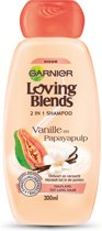 Garnier Loving Blends Vanille en Papayapulp 2 in 1 Shampoo - 300 ml - Shampoo