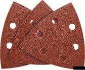 Schuurpapier DELTA K120 96x96x96mm, 5 stuks verpakking, Velcro