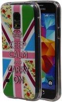 Samsung Galaxy S5 mini Hoesje Keizerskroon TPU