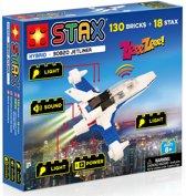 STAX Hybrid Jetliner bouwen met licht en geluid