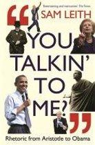Boekomslag van 'You Talkin' To Me?'