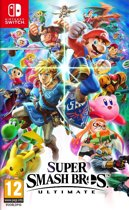 Cover van de game Super Smash Bros. Ultimate - Switch