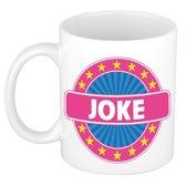 Joke naam koffie mok / beker 300 ml  - namen mokken