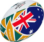 Gilbert Rugbybal Rugby World Cup vlag Aus Mini
