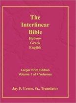 Interlinear Hebrew Greek English Bible-PR-FL/OE/KJ Large Pring Volume 1