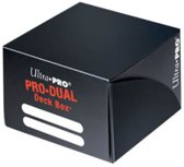 Zwarte Deckbox Pro-Dual Ultra PRO