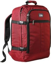 CabinMax Metz – Handbagage - Rugzak 30l– Schooltas - 45x35x20cm – Lichtgewicht - Rood (MZ 30-RD)