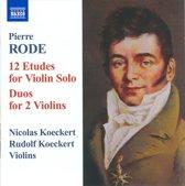 Rode: 12 Etudes / Duos