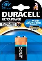 Duracell 9V Ultra Power Alkaline Batterije - 1 stuk