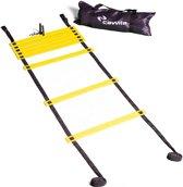 Loopladder, speedladder, agility ladder met vaste treden 4 meter